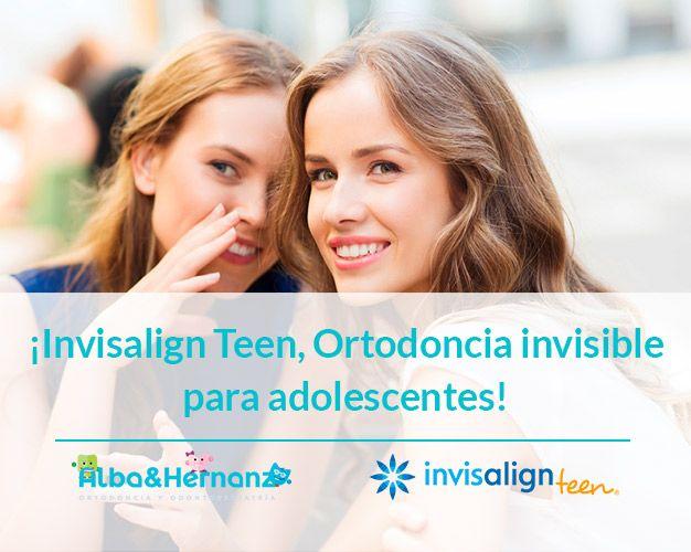 ortodoncia invisible para adolescentes